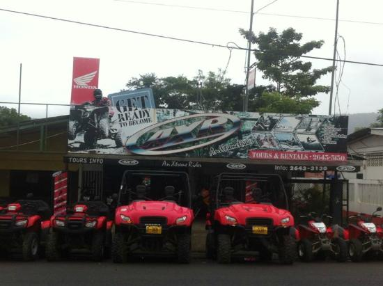 AXR An Xtreme Rider: AXR Main Office, Jaco Costa Rica. Next to the Red Cross