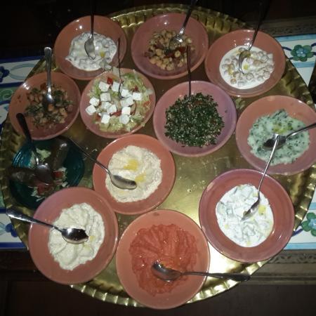 I piatti tipici arabi foto di sciam roma tripadvisor for Roma piatti tipici