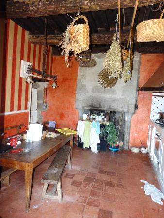 Liginiac, Frankrike: cozinha