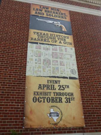 Brenham Heritage Museum: Special Exhibit Information