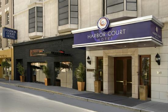 Welcome to the Harbor Court Hotel