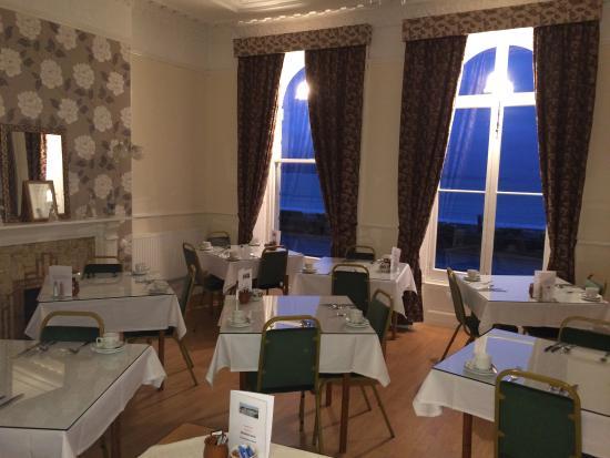 Sherborne Hotel Weymouth: Dining Room