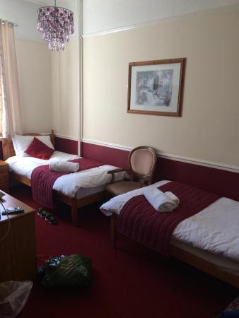 Sherborne Hotel Weymouth: i had a twin room