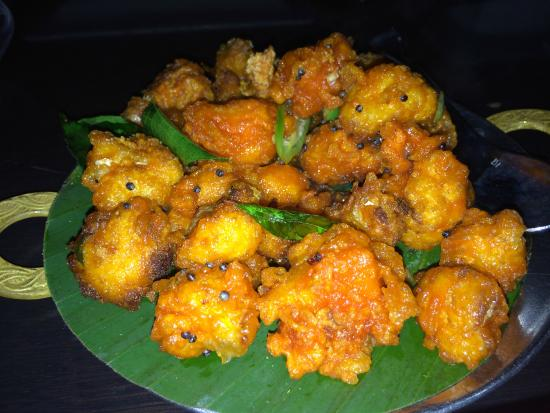 Rasika: Cauliflower Bezule (mustard seeds / green chilies / curry leaves)