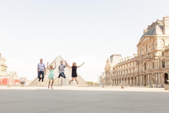 Paris, Frankrike: Family shot