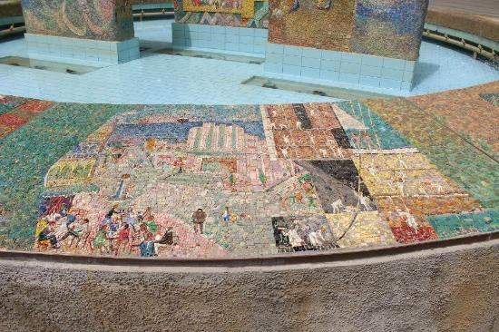 Nahum Gutman Mosaic Fountain