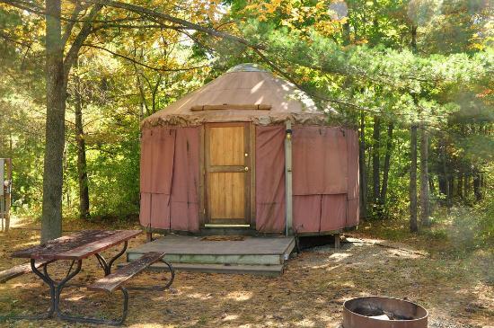 Tranquil Timbers Camping Resort: Yurt