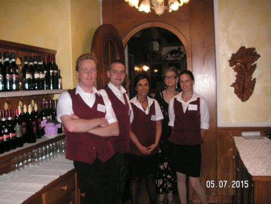 Hotel Alpi: Das sehr nette  Peronal