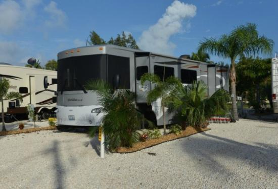 Fiesta Key RV Resort: RV Site