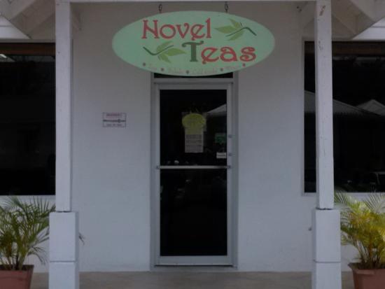 NovelTeas Tea Shop: Entrance to Novel Teas