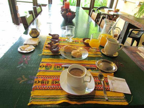 Alto del Molle: Que desayuno!!!
