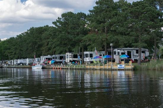 Waterway Picture Of Twin Lakes Rv Amp Camping Resort