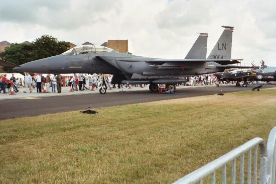RAF Waddington Airshow: F15 Eagle