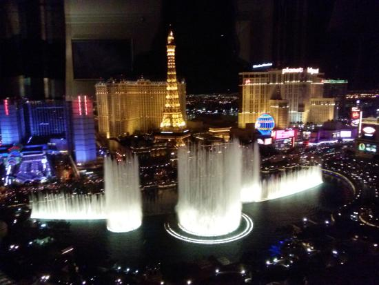 View from the room picture of bellagio las vegas las for Las vegas fountain