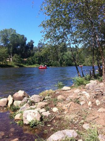 Coloma Resort : Rafting on the river