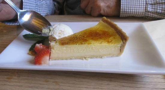The Queen's Head: Lemon Tart