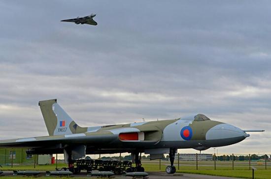 RAF Waddington Airshow: Vulcans