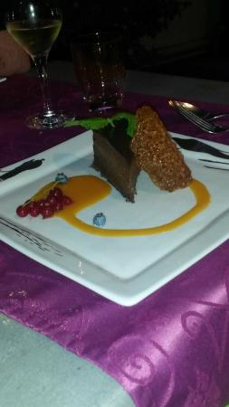 La Rotisserie de la Mer : La marquise au chocolat