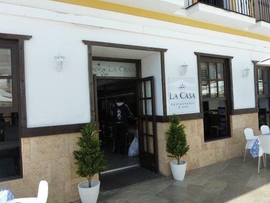 La Casa Bar and Restaurant: La Casa Restaurant