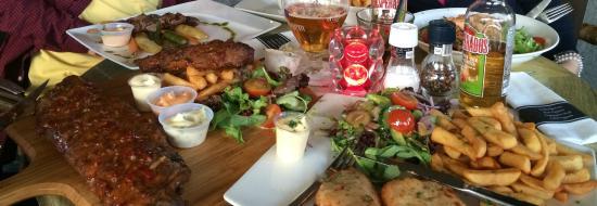 Hotel De la Bourse: Lunch