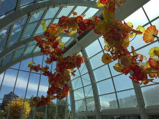 Chihuly garden and glass picture of chihuly garden and glass seattle tripadvisor for Chihuly garden and glass hours