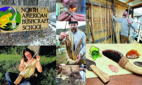 North American Bushcraft School - Day Classes: collage