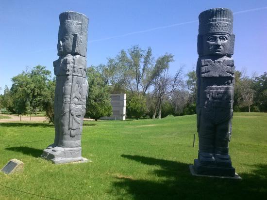 Parque El Chamizal: Mayan Sculptures