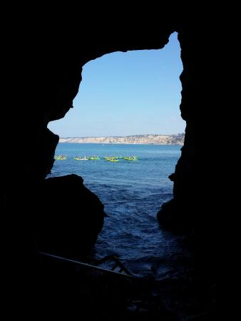 The Cave Store: Kayakers