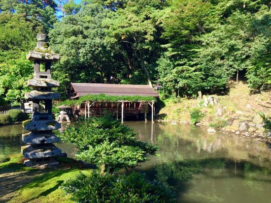 Kenroku en fotograf a de jard n kenrokuen kanazawa for Jardin kenrokuen