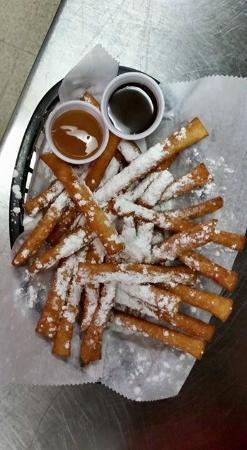 Hocking Hills Diner: Funnel cake fries