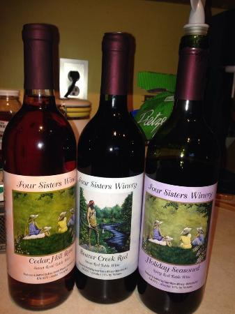 Four Sisters Winery at Matarazzo Farms: Happiness