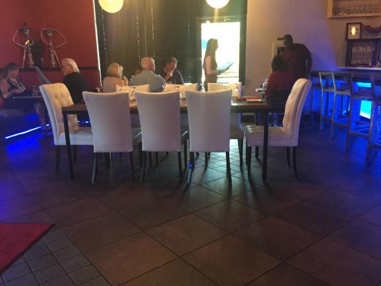 Fusion Restaurant Bar Dining Area
