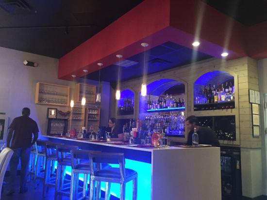 Fusion Restaurant Bar Area