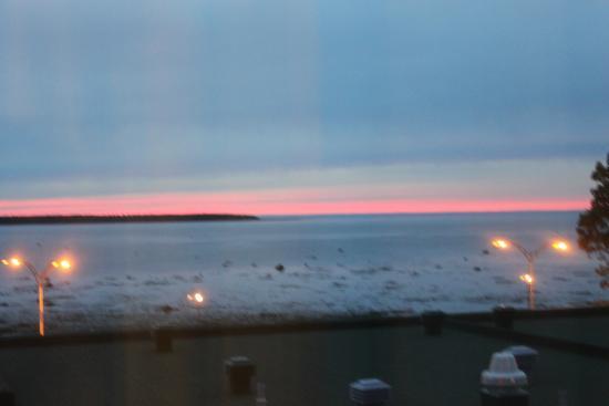 Hotel Rimouski : sunset