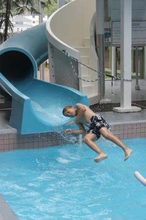 Hotel Rimouski: Kids loved the pool
