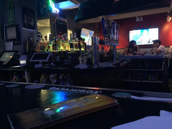 โนกาเลส, อาริโซน่า: View of the bar