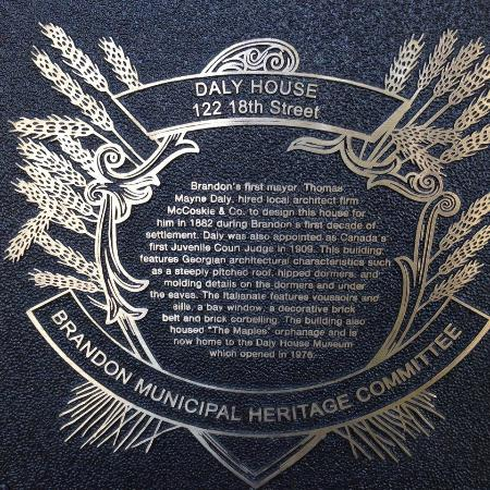 ‪The Daly House Museum‬