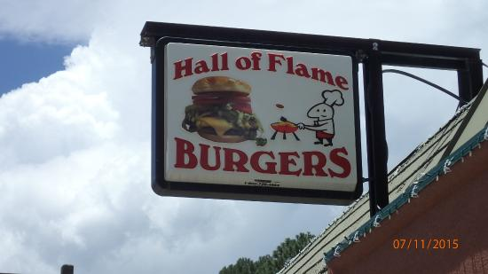 Hall of Flame Burgers: Hall of Flame