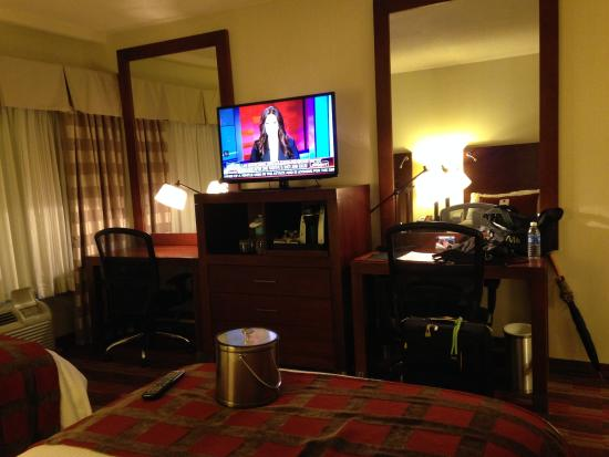 Wyndham Hamilton Park Hotel and Conference Center: TV