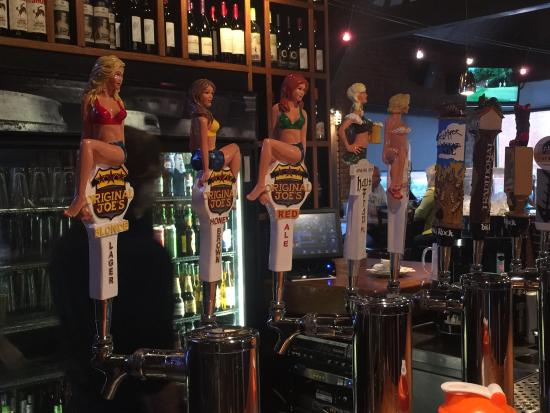 Original Joe's: Great selection of house brand beer on tap