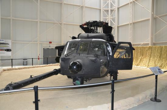 United States Army Aviation Museum: UH-60 Blackhawk involved in the 1993 Battle of Mogadishu