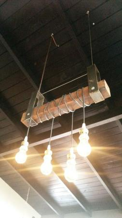 Lámparas novedosas del restaurant