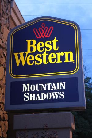 Best Western Mountain Shadows: Welcome to the BW Mountain Shadows