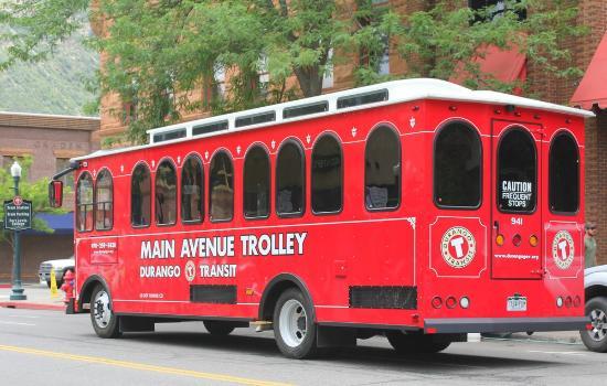 Best Western Mountain Shadows: Durango Trolley