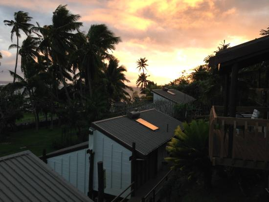 The Crow's Nest: Sunset from Executive ocean view room
