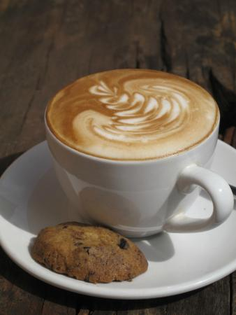 Cafe Vespa: Probably the best coffee in Bali
