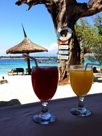 Good Heart Bungalows: Nice lunch at the beach