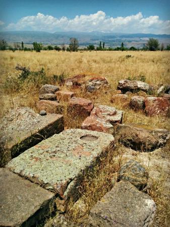 Badali Zham Church: Remains of tombstones at Badali Zham Church