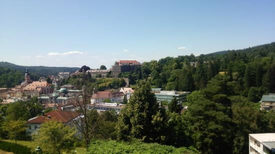 Hotel Magnetberg Baden-Baden: 眺望