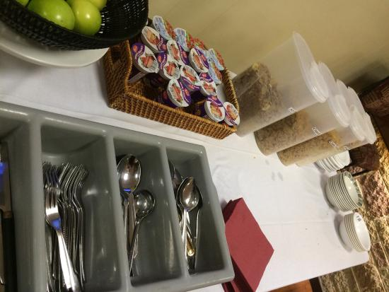Park View House Hotel : Breakfast